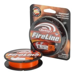 Berkley Fireline Orange Kuitusiima 110 M