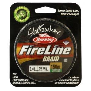 Berkley Fireline Svartzonker Vihreä Kuitusiima 150 M