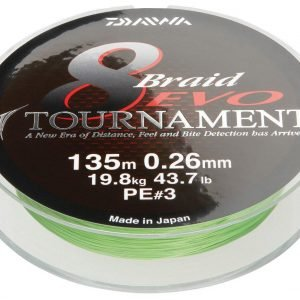 Daiwa Tournament 8 Evo Kuitusiima 135 M