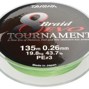 Daiwa Tournament 8 Evo Kuitusiima 135 M