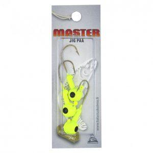 Master Jigipää 10 G 3 Kpl Keltainen