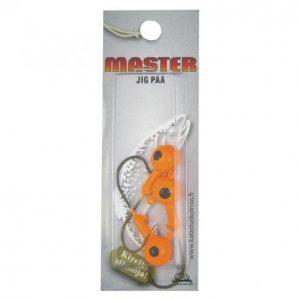 Master Jigipää 10 G 3 Kpl Oranssi