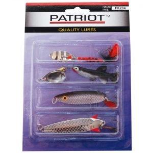 Patriot Hauki Uistinlajitelma 4 Kpl / Pkt