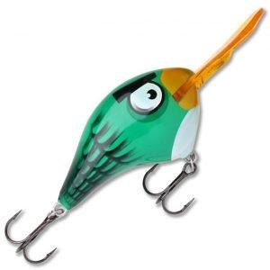 Rapala Angry Birds Dt Green Bird Vaappu