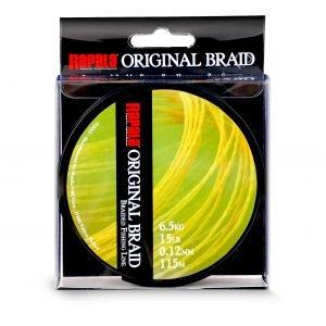 Rapala Original Braid Kuitusiima Keltainen 115 M