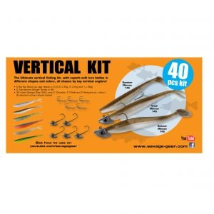 Savage Gear Vertical Pro Pack Kit Lajitelma