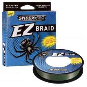 Spiderwire Ez Braid Kuitusiima Vihreä 100 M
