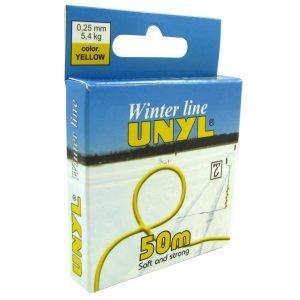 Unyl Winter Monofiilisiima Keltainen 50 M