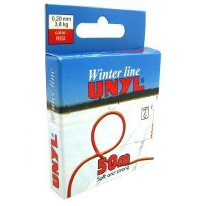 Unyl Winter Monofiilisiima Punainen 50 M