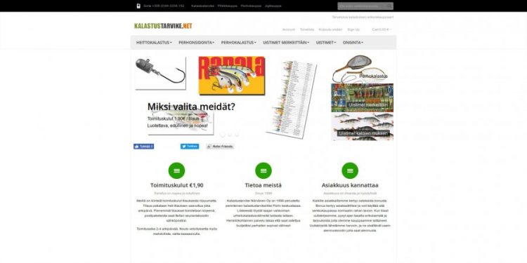 Kalastustarvike.net